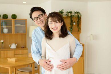 妊娠に成功した夫婦