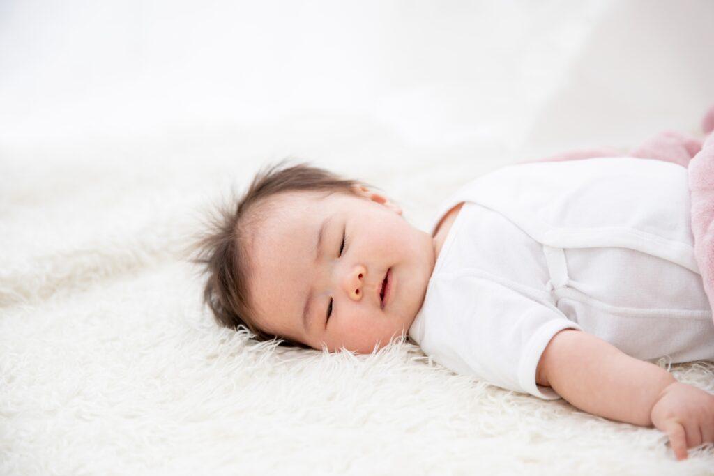 お休み中の赤ちゃん
