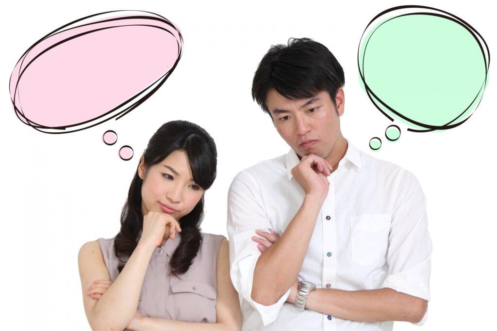 お互いに考える妊活中の夫婦